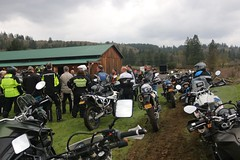 IMG_2463 (jcravens) Tags: motorcycle bikes motos offroad clinic class gravel wet grass mud bmw klr usa washington pnw