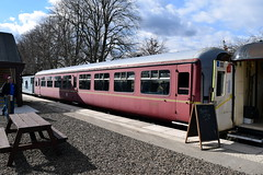 Bridge of Dunn (DarloRich2009) Tags: 5188 sc5188 mark2 mkii marktwo mark2coach bridgeofdunn bridgeofdunnstation bridgeofdunnrailwaystation caledonianrailwaybrechin caledonianrailway cr caledoniansteamrailway