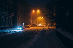 IMG_9159 (odwalker) Tags: builtstructure coldtemperature slippery streetlight blizzard car cinematic city dark dusk frozen ice illuminated night outdoors road snow snowing street traffic urbanscene weather winter