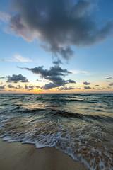 Sunrise Once More (saebaryo) Tags: canoneos5dmarkiii canon 5d3 5diii beach ocean sea sand surf sky clouds sunrise canon1635mmf28lii 1635mm