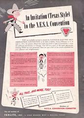 Sot NESA Ad Texas Jan 53 (hmdavid) Tags: vintage sign texlite porcelain ad advertisement signsofthetimes magazine 1950s midcentury roadside advertising