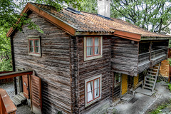 House at Skansen Stockholm, Sweden 29/8 2017. (photoola) Tags: stockholm skansen trähus woodenhouse photoola sweden