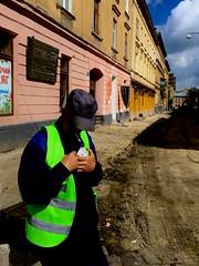 (kitowras) Tags: city iphonese people ukraine iphonephoto color street lviv