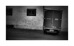 All things lean in Pisa (CJS*64) Tags: pisa van wagon lean italy walkabouts blackwhite bw blackandwhite whiteblack whiteandblack mono monochrome cjs64 craigsunter cjs whiteboarder panasonic lx100 panasoniclx100