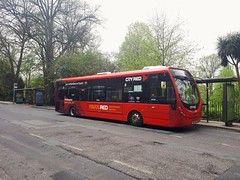 47428 SK63KMZ (PD3.) Tags: 47428 sk63kmz sk63 kmz city red wright streetlite bus buses psv pcv southampton hampshire hants england uk first dorset