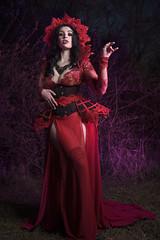 Vampyre (Wurmwood Photography) Tags: fantasy female red vampire creative nikon photography flash mythology halloween beauty fashion people portrait death dead goth gothic