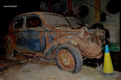 lancia ardea (riccardo nassisi) Tags: auto abandoned abbandonata wreck rust rusty rottame relitto ruggine ruins scrap scrapyard fornace fiat decay epave relitti