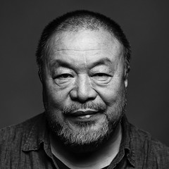 Ai Weiwei (lanskymob) Tags: artist ai aiweiwei china chinese political sculpture beijing newyork arrest blackandwhite