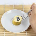 Golden Bitcoin on fork thumbnail