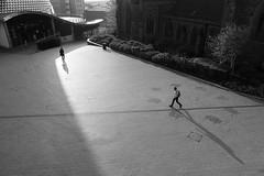 20180508_Short and Long (Damien Walmsley) Tags: bullring shadows long tall short people morning birmingham blackandwhite