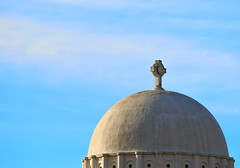 Sky, Dome (Chancy Rendezvous) Tags: chancyrendezvous davelawler blurgasm church dome greek orthodox saintspyridon cathedral worcester massachusetts religion christianity clouds skydome bluesky