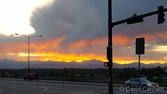 May 17, 2018 - Sunset over the mountains. (David Canfield)