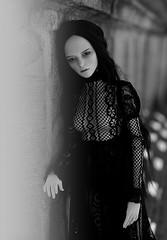 dark soul (dolls of milena) Tags: bjd abjd iplehouse harace resin doll portrait dark bw