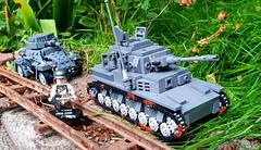 Pz IV (Falsher_) Tags: ww2 lego pziv tank panzer german pz4