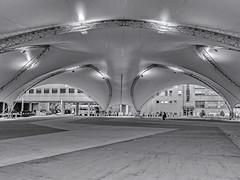 Urbanscape 4 # 61  ... ; (c)rebfoto (rebfoto ...) Tags: urban urbanscape cityscape tent rebfoto monochrome blackandwhite arcjitecture architecturaldetail architecturalphotography