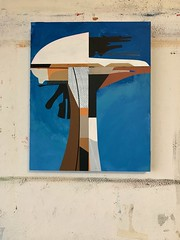 Jim Harris: Sonic Defense Tower at Råkvåg. (Jim Harris: Artist.) Tags: art kunst konst künstler painting peinture asia arte avantgarde abstractart paint postmodern panel paintings lartabstrait himmel