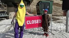Closing Day At Heavenly - April 22 (benjaminfish) Tags: ski lake tahoe snow snowbard heavenly california kid april 2018 spring gunbarrel