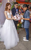 Traditional Taiwan Wedding Couple (allentimothy1947) Tags: 2018 april28 chenglong kohoutownshipr taiwan yunlincounty villagers wedding guests bride groom candy goodbye dress traditional beautiful handsome culture tradition ceremony