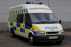 Police Scotland Ford Transit Collision Investigation Unit (PFB-999) Tags: police scotland ps ford transit longline collision accident investigation nit van vehicle lightbar grilles rear reds strobes leds sf55cvh