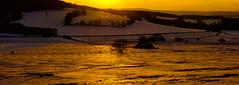 Sonnenuntergang am Ernstberg in der Vulkaneifel (clemensgilles) Tags: landscape landschaft panorama winter eifel schnee snow sunset sonnenuntergang vulkaneifel