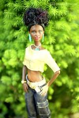 golden girl outdoor shoot - 3 (photos4dreams) Tags: barbie mattel doll toy diorama photos4dreams p4d photos4dreamz barbies girl play fashion fashionistas outfit kleider mode puppenstube tabletopphotography aa beauties beautiful girls women ladies damen weiblich female funky afroamerican afro schnitt hair haare afrolook darkskin africanamerican canoneos5dmark3