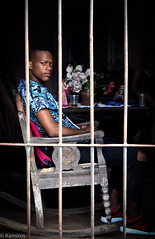 Sedia a dondolo (sladkij11) Tags: cuba trinidad sedia chair inferriata streetphotography olympus penf
