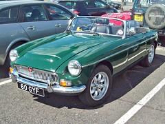 396 MG C Roadster (1968) (robertknight16) Tags: british mg 1960s mgc sportscar bmc bl vscc silverstone wru732k