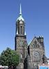 Mönchengladbach-Rheydt, Markt (borntobewild1946) Tags: hauptkirche evhauptkircherheydt moenchengladbach mönchengladbach rheydt mönchengladbachrheydt rheydtmarkt markt copyrightsbyberndloos copyrightbyborntobewild1946 nrw nordrheinwestfalen niederrhein rheinland kirchturm churchtower blauerhimmel bluesky
