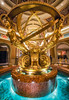 Venitian Hotel Interior Fountain (Mike Filippoff) Tags: venitan fountain lasvegas nevada longexposure water movement colorful golden coins shiny beautiful sculpture hall