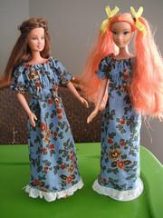 DSCF2069 (Jeannie Colleen) Tags: barbie doll dress dresses etsy dollclothes handmadedollclothes handmadebarbiedollclothes mysticalraindrops