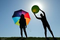Happy Mother's Day (disgruntledbaker1) Tags: umbrella balloon daughter mom