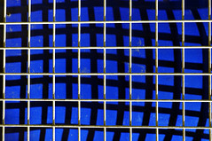 14th May (maddpete) Tags: mesh blue distortion shadows