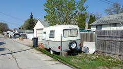 Back Lane Boler (POP SNAP) Tags: winnipeg canada manitoba bolertrailer trailer campertrailer traveltrailer boler