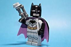 Rebirth Batsuit (Supremedalekdunn') Tags: lego batman rebirth batsuit dc comics detective cowl cape batarang utility belt
