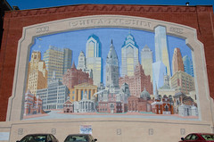 the city mural (lvphotos!) Tags: philadelphia city downtown mural painting art travel usa pennsylvania place sightseeing