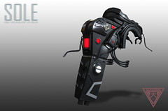 :::SOLE:::  New Back pack Comming soon (shoukokanto) Tags: secondlife second life scifi cyberpunk sf steampunk cyber armor glow neon headset gear tech high technology hightech girl cybergirl cyberpunkgirl cyberpunkwoman 3dmodeling modeling japan asian サイバーパンク サイバー スチームパンク sole 2nd virtualwold game sexy fire hammer steam cloud mist glove deep coolgirl dusty armtech armlet smoke badgirl lightning thunder soleaccessory arm rain monitor blue cute pretty lovely cyborg gynoid drool tears mesh maitreya star cyberarm kawaii セカンドライフ people photo rainy rainyday portrait