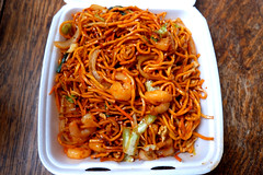 Manchurian Shrimp Chow Mein (knightbefore_99) Tags: chili pepper house fusion chinese indian tasty food takeout takeaway delicious vancouver asian best manchurian shrimp chowmein