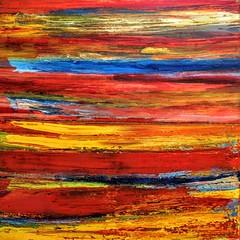 five landscapes in one picture (Peter Wachtmeister) Tags: artinformel mysticart modernart popart artbrut phantasticart abstract abstrakterimpressionismus abstrakt acrylicpaint surrealismus surrealism hanspeterwachtmeister