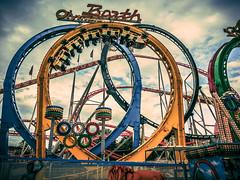 Olympia Coaster (neo1984com) Tags: prater wien achterbahn olympia olympiaachterbahn rollercoaster