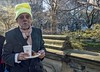 A TRUE ROMEO (J MERMEL) Tags: centralpark genres people portraits older man funny hat hungry