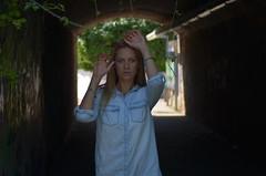 Tanya (denis.nayk) Tags: green tunnel face cute nice