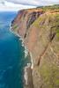 Kauai Heli Tour - Coastal Rock Wall (lycheng99) Tags: helicopter maunaloahelicopter maunaloahelicoptertours kauai hawaii landscape nature coast pacific pacificocean water horizon blue waves beach rockwall