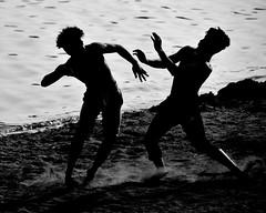 Teenage pugilists, Lake Harriet North Beach (schwerdf) Tags: boxing lakeharriet lakeharrietnorthbeach lindenhills minneapolis minnesota southwest
