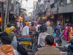 Ludhiana, Punjab (Malwa Bus Archive) Tags: 2009 india malwabusarchive punjab studio1937 travel ludhiana traffic chaurabazaar