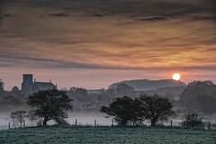Misty Dawn Over Cley (andybam1955) Tags: mist dawn sky northnorfolk landscape cleynextthesea norfolk rural