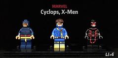Cyclops, X-Men (L1n6zz) Tags: lego xmen marvel cyclops leyilebrick