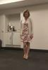 Short And Floral (justplainrachel) Tags: justplainrachel rachel cd tv crossdresser trans transvestite tgirl floral dress tights cardigan