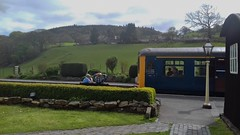 Carrog 040518_140318 (Leslie Platt) Tags: carrogstation denbighshire deevalley llangollenrailway heritagedieselrailcar straightened exposureadjusted