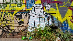 Barek... (colourourcity) Tags: streetart streetartnow graffiti graffitimelbourne burncity awesome colourourcity nofilters melbourne streetartaustralia barekart barek barekworld lovelandslane handrawn