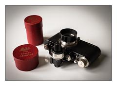 Black beauty (floguill) Tags: leica iid couplex leitz elmar 35cm nickel vidom originalboxes